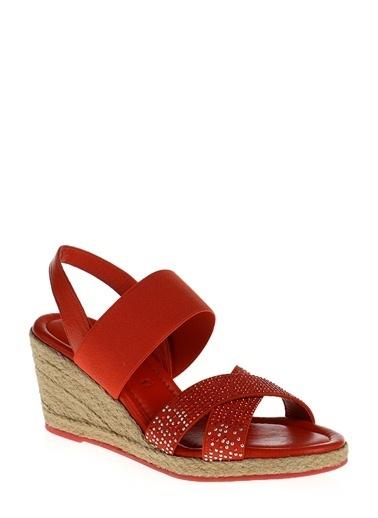 Divarese Sandalet Kırmızı
